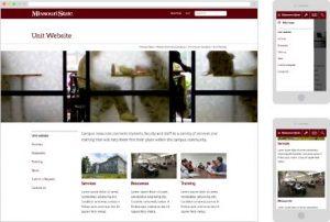Sample mobile website
