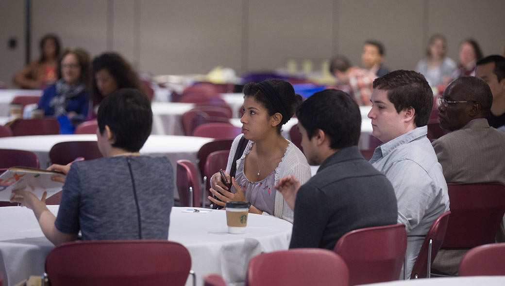 Guests at Statewide Collaborative Diversity Conference