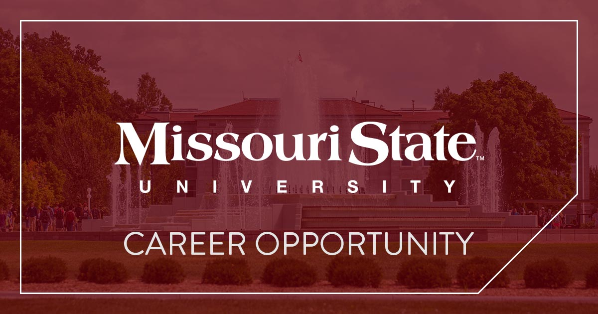 Missouri State Career Opportunity