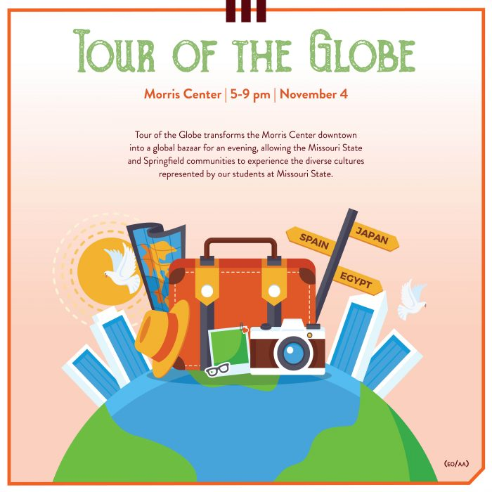 ad for tour of the globe event