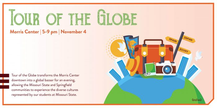 tour of the globe ad