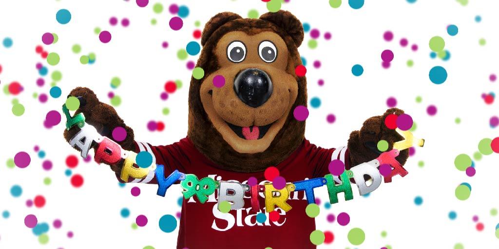 Birthday Bears Missouri State University