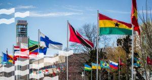 Avenue of flags Facebook crop