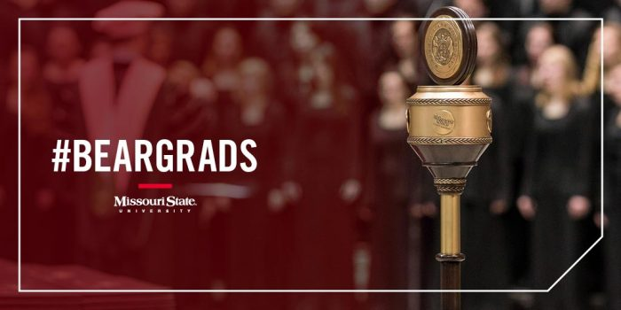 Spring commencement Twitter photo