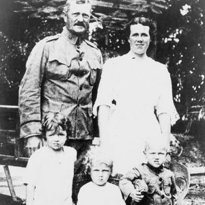 General John Pershing and his family