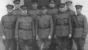 General John Pershing with unit