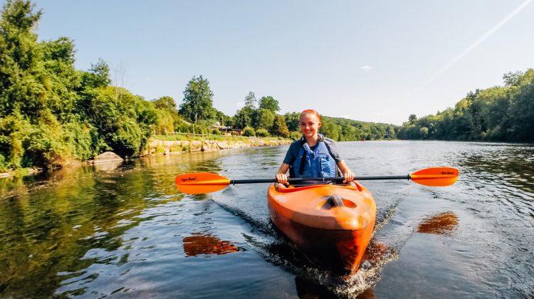 Kayaking Trip at Lake Springfield